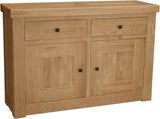Bordeaux Oak 2 Door Sideboard