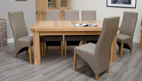 Stratford Large Oak Extending Table