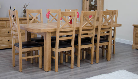 Warwick Oak 180cm Extending Table