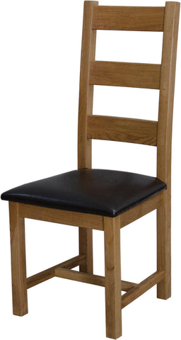 Warwick Oak Ladder Back Dining Chair