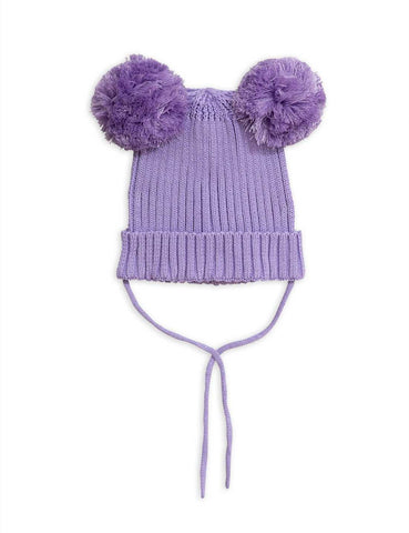 Mini Rodini Ear hat - lilla