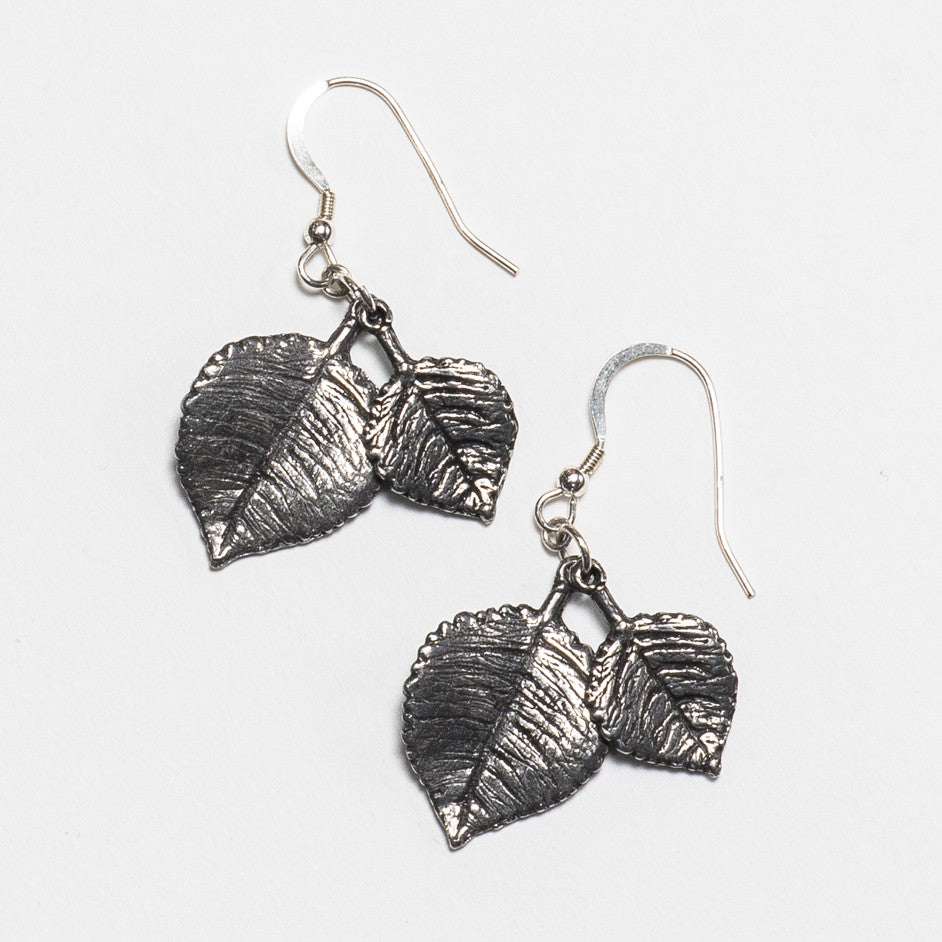 Aspen Earrings - Antique Silver