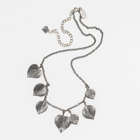 Aspen Necklace - Antique Silver