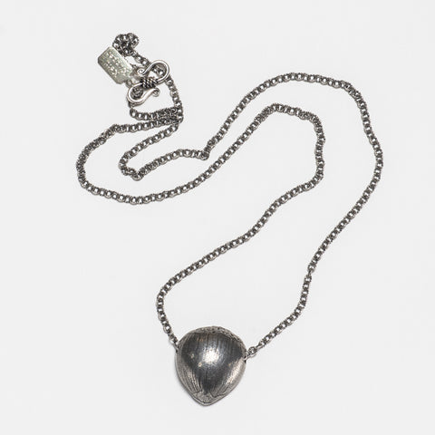 Chestnut Necklace - Antique Silver