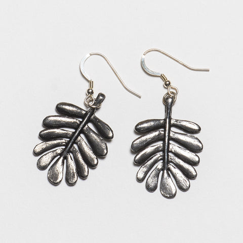 Yarrow Earrings - Antique Silver