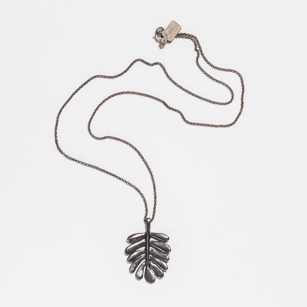 Yarrow Necklace - Antique Silver