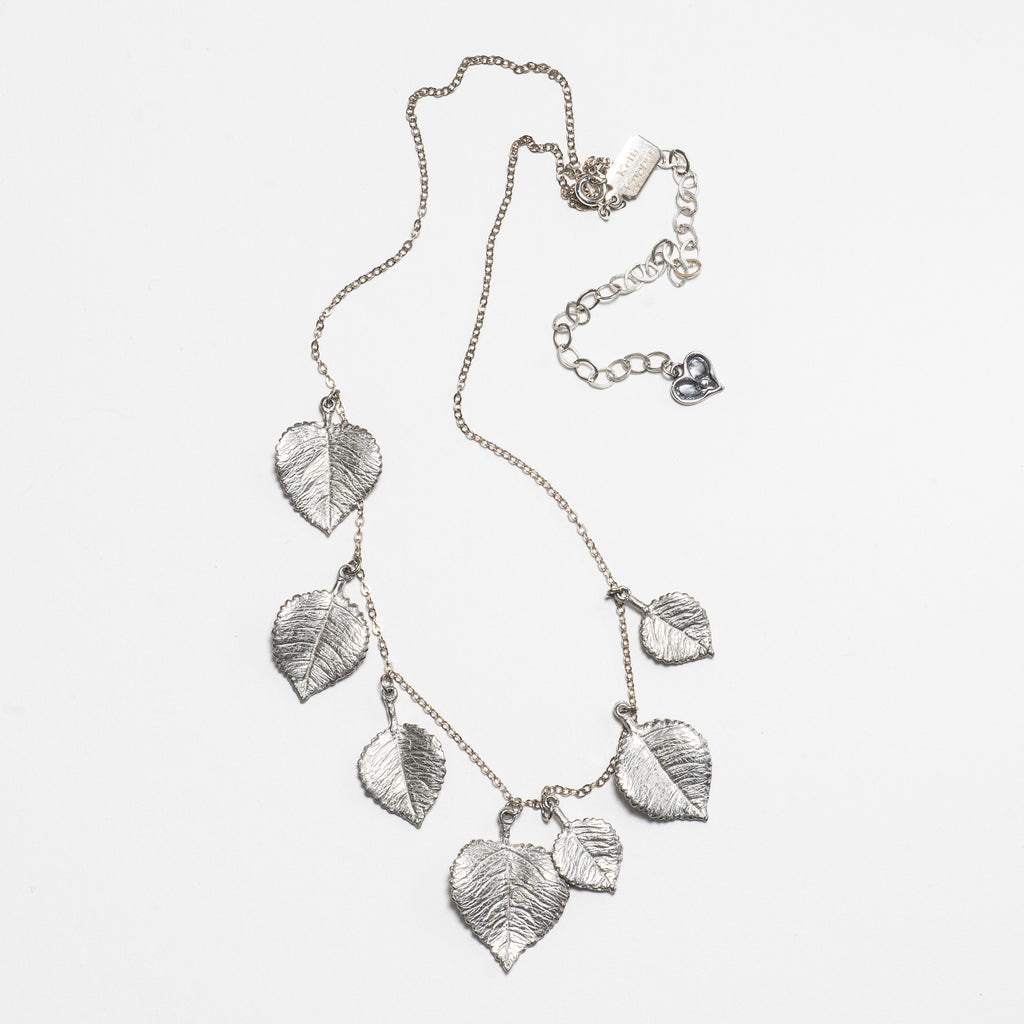 Aspen Necklace - Bright Silver