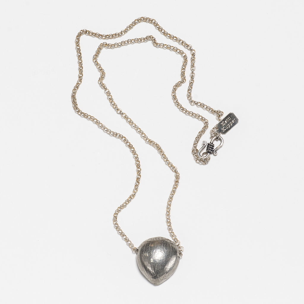 Chestnut Necklace - Bright Silver
