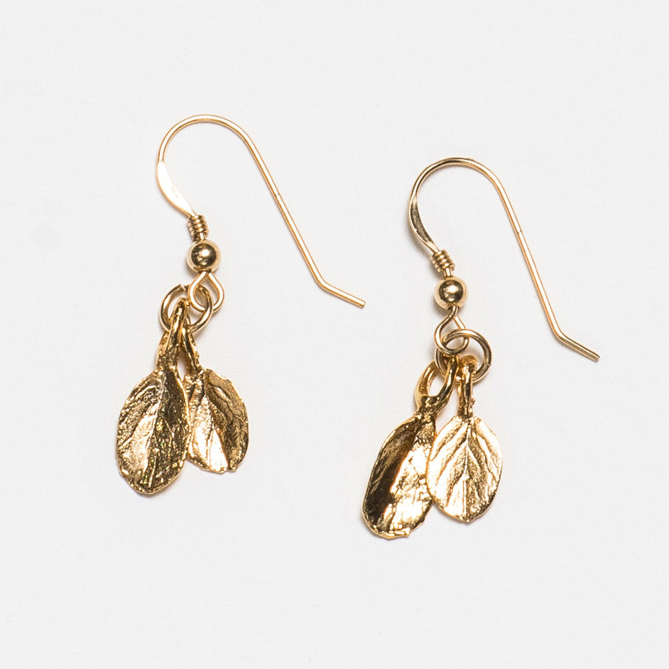 Marjoram Earrings - Gold Plated