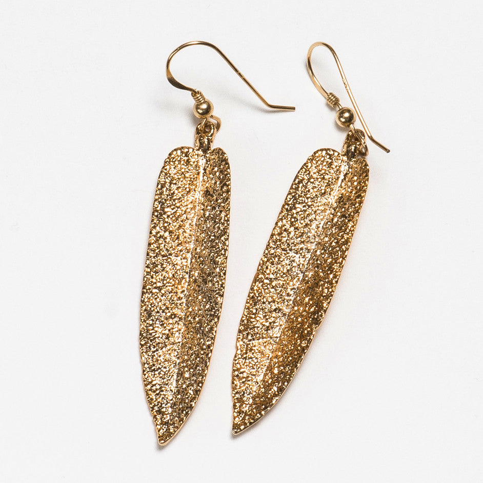 Sage Earrings - Gold Plated