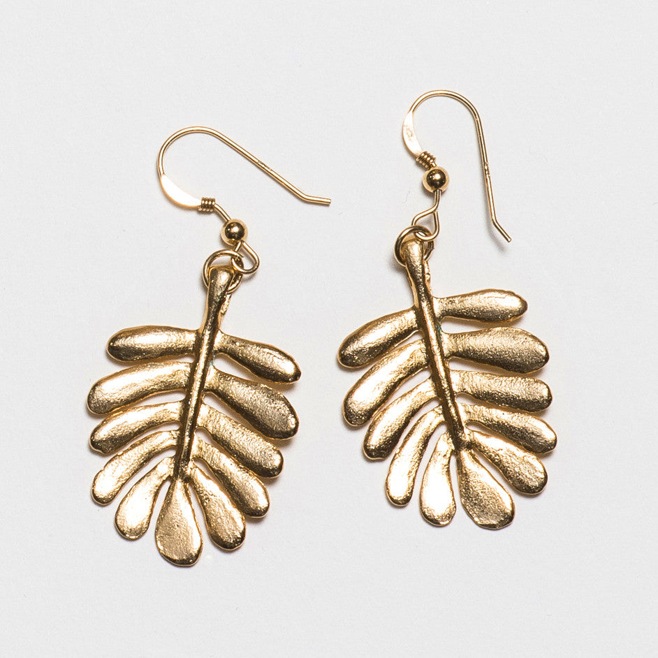 Yarrow Earrings - Gold Plated