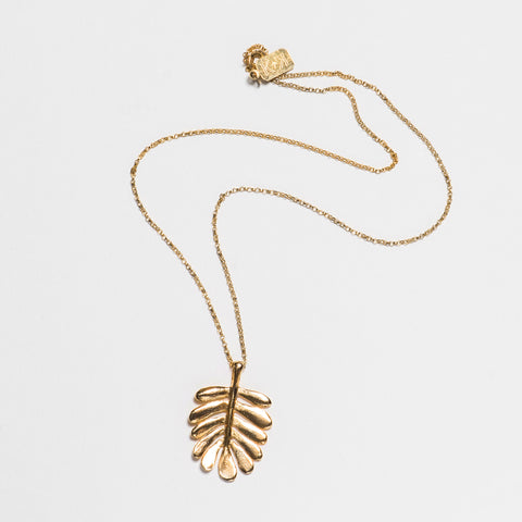 Yarrow Necklace - Gold Plated