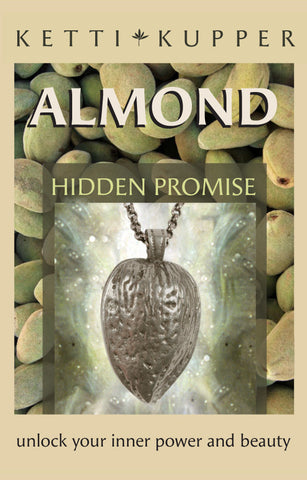 Almond Necklace - Antique Silver