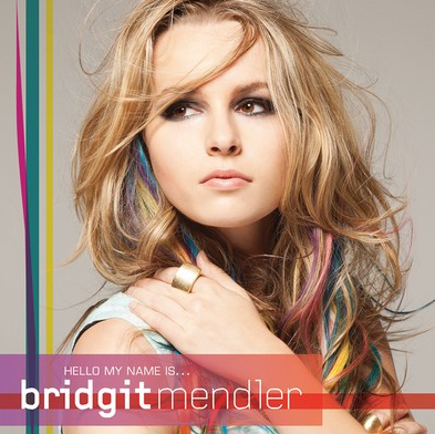 Official Bridgit Mendler Autographed Hello My Name Is... CD