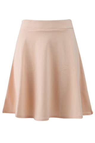 Candy Pop Peach Skater Skirt
