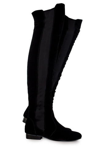 Skye Flat Over The Knee Boots