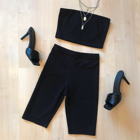 Maya Co-ord Set Black