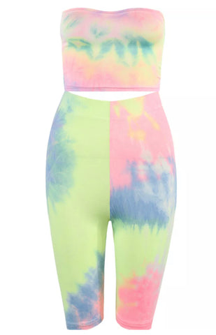 Luna Tie Dye Co-ord Set