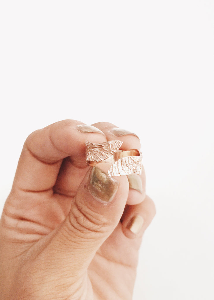 Handcrafted Wrap Ring Design By Kalaki Riot