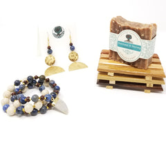 Soap and jewelry gift set