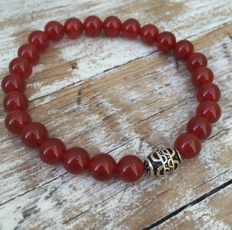 Mens Stag Collection - Carnelian
