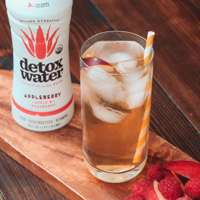 Time To Get Festive With Holiday Detoxwater Cocktails.