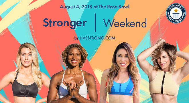 Detoxwater Helps Break World Record at StrongerWeekend.