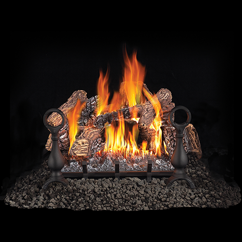 GL Fiberglow Vented Gas Log Set