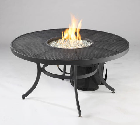 Nightfire-42 Round Fire Pit Table