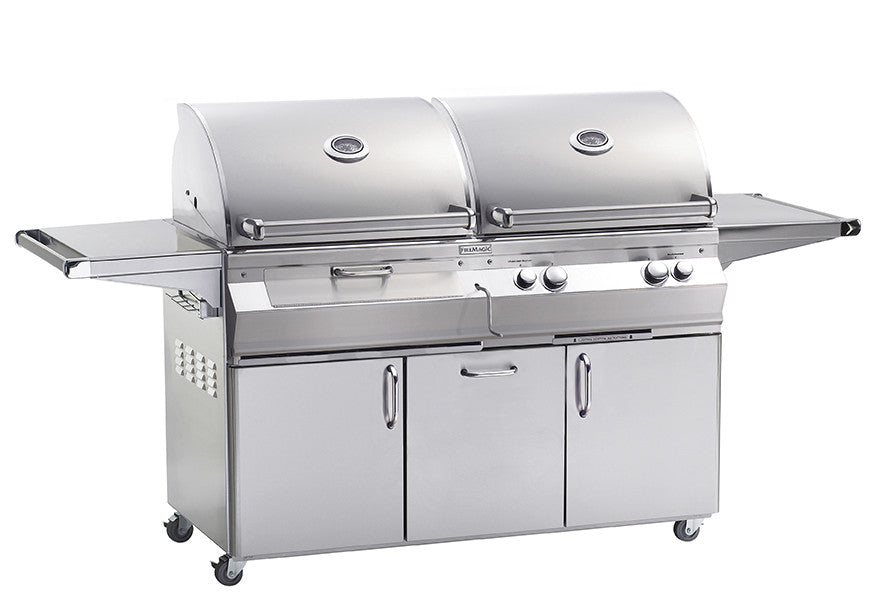 A830s Aurora Gas & Charcoal Combo Grill