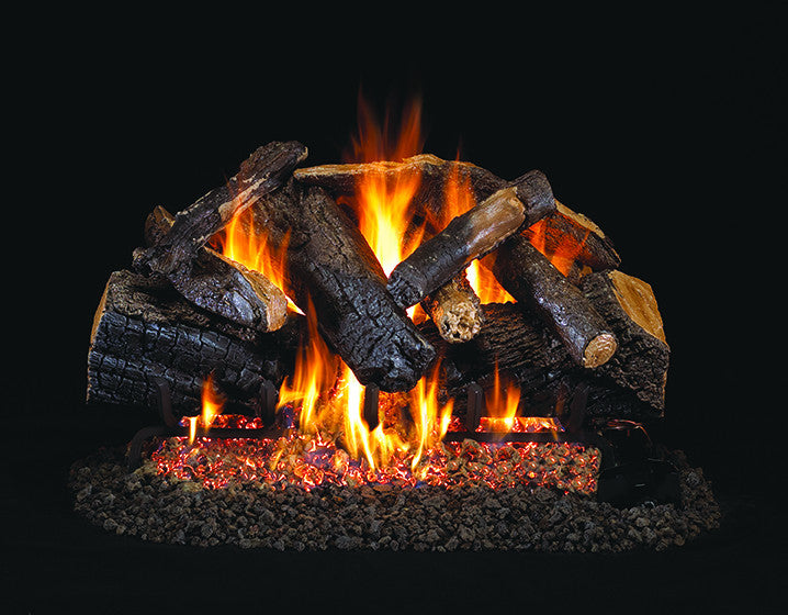 Charred Majestic Oak Gas Log Set