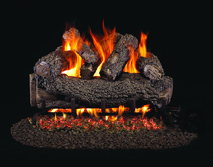 Forest Oak Designer Gas Log Set