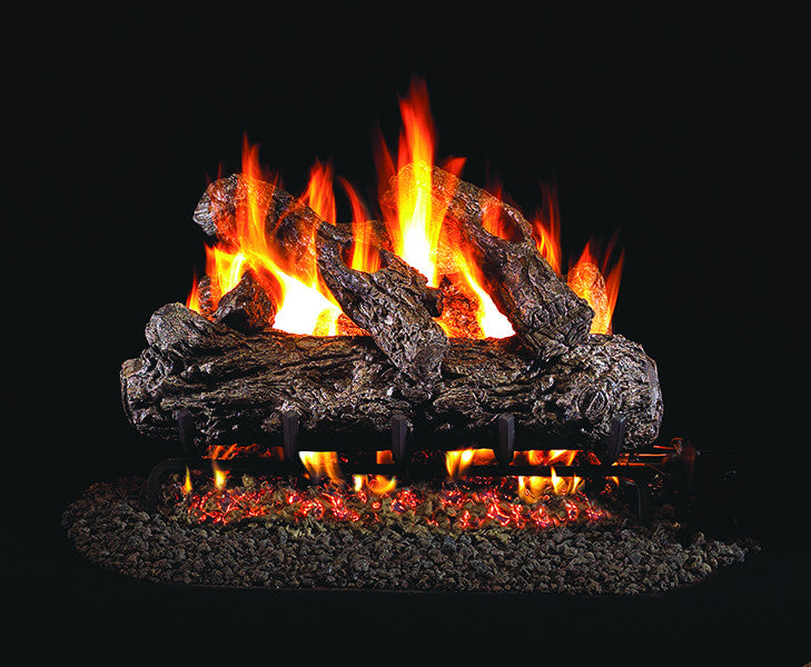 Rustic Oak Classic Gas Log Set