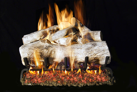 Mountain Birch Designer Gas Log Set