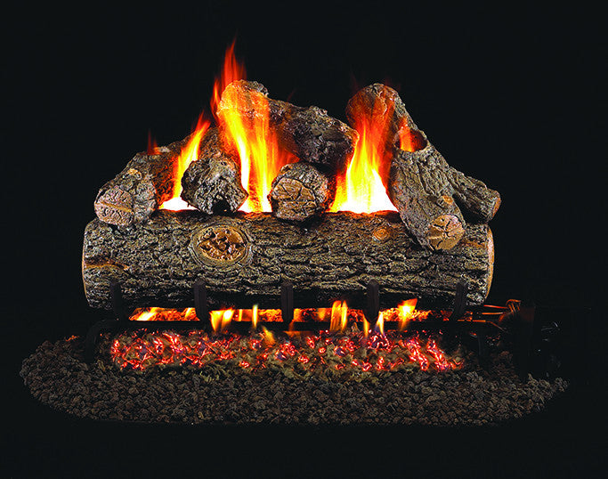 Golden Oak Designer Gas Log Set