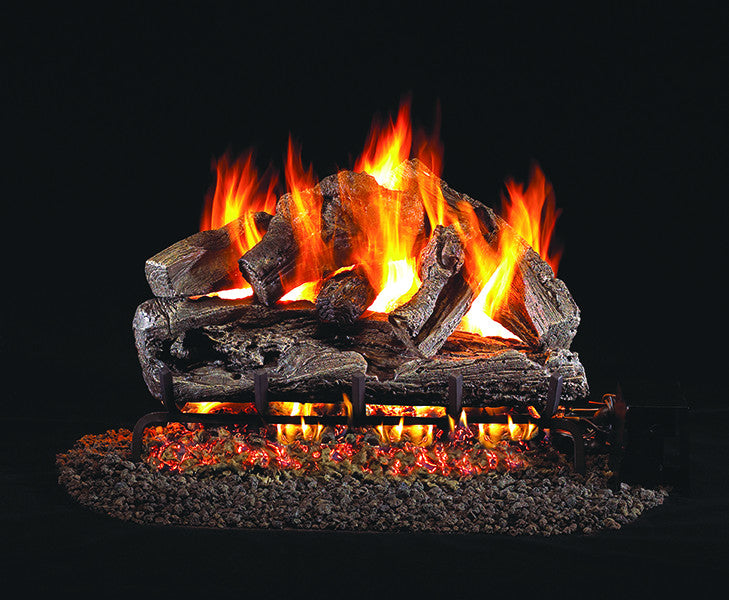Rugged Oak Classic Gas Log Set