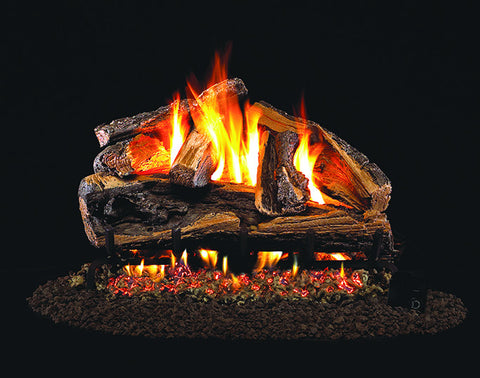 Rugged Split Oak Designer Gas Log Set