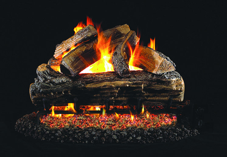 Split Oak Designer Gas Log Set
