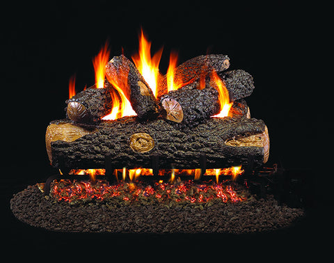 Woodland Oak Designer Gas Log Set