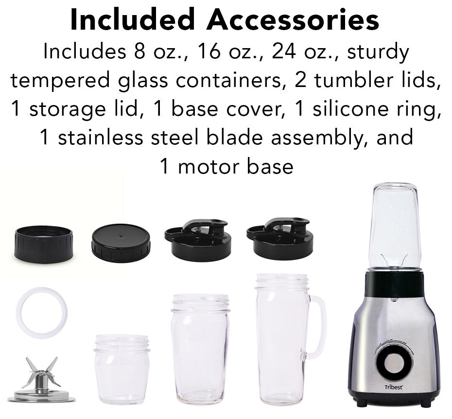 Tribest Glass Personal Blender - PBG-5050