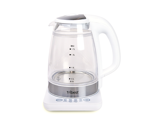Tribest Raw Tea Kettle, Glass Electric Water Kettle - GKD-450-B