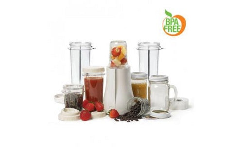 Tribest Mason Jar Personal Blender with XL Cups Single-Serving Blender - PB-350XL-A