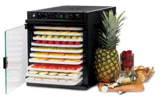Tribest Sedona Express Food Dehydrator with BPA-Free Trays - SDE-P6280