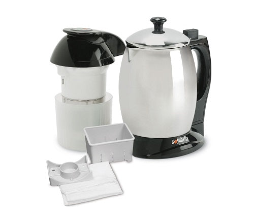 Tribest Deluxe Soyabella Soymilk Maker w/ Lid and Tofu Kit - SB-132-B