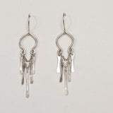 """Bianca"" Sterling Silver Chandelier Earrings"