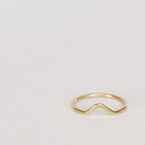 Vibe Stack Brass Ring
