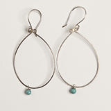 """Simplicity"" Sterling Silver Loop Earrings"