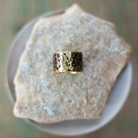Cigar Band brass ring
