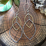 Flock Together linked earrings