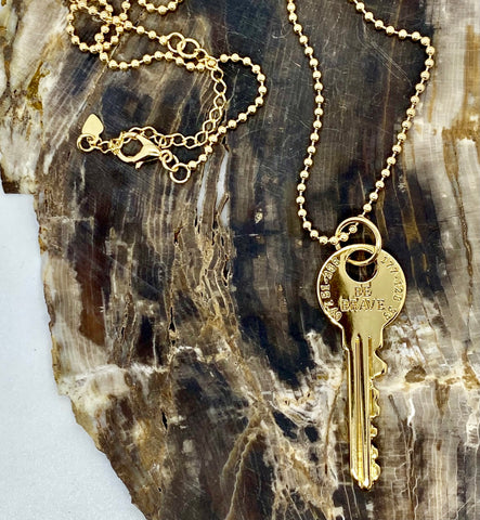 Be Kind Key Necklace